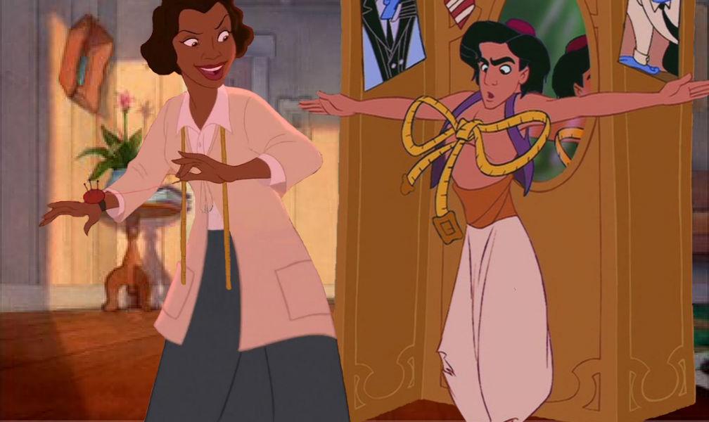 Eudora Steals Genie's Job