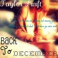 Fanmade Album Cover- Back To December - taylor-swift fan art