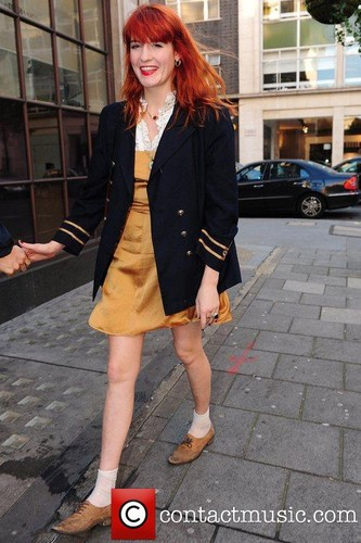 "Florence Outside ""BBC Radio 1 Studios"" - London"