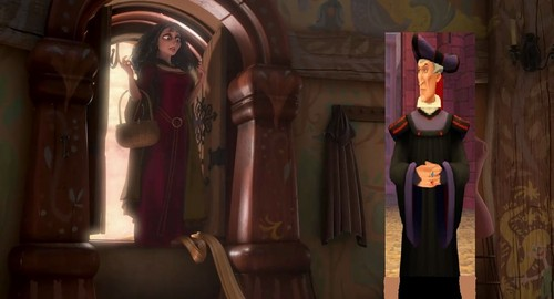 Frollo and Gothel