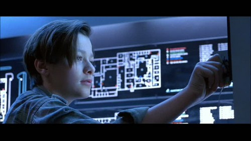 Edward Furlong Wallpaper Containing A Television Receiver And A High  Definition Television Called Furlong In Terminator