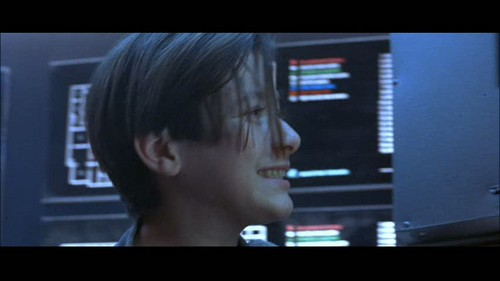 Edward Furlong Wallpaper With A Television Receiver And A High Definition  Television Titled Furlong In Terminator