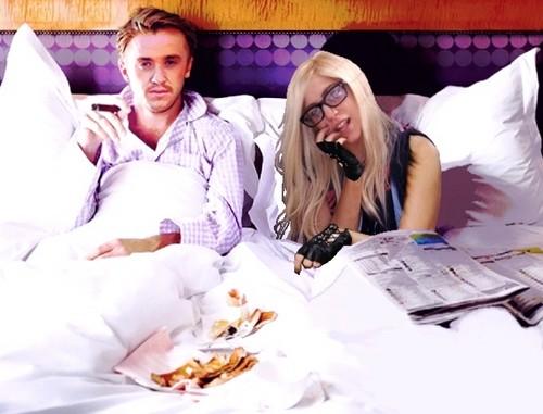 Gaga and Draco Cuddles