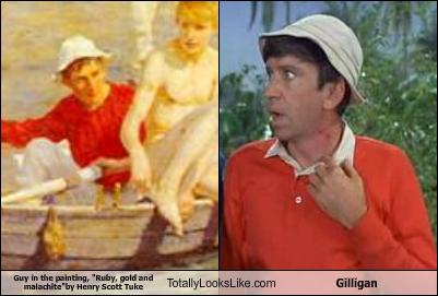 Gilligan's Island wallpaper entitled Gilligan's Doppelganger?