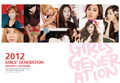 Girls Generation 2012 Monthly Calendar