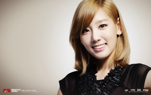 Girls Generation/SNSD wallpaper containing a portrait called Girls' Generation Taeyeon FreeStyle