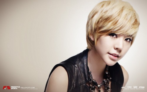 Girls Generation/SNSD wallpaper with a portrait titled Girls' Generation Sunny FreeStyle