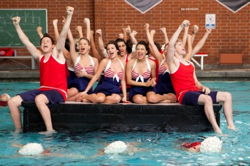 glee/グリー Episode 3.10 Photos: Synchronized Swimming in 'Yes/No'