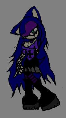 Gothic Crystal the hedgehog