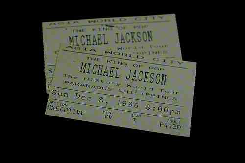 HIStory Tour Tickets