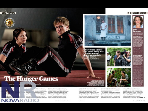 HQ still of Katniss and Peeta