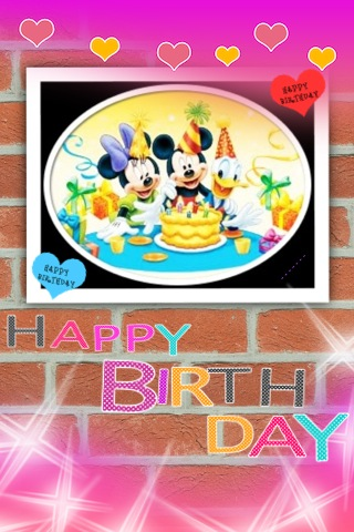Happy Birthday ディズニー