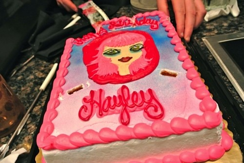 Hayley's birthday cake