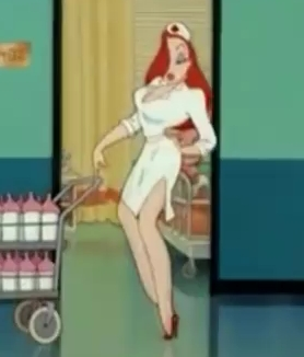 Jessica Rabbit Hintergrund probably containing Anime entitled Helloooo, Nurse