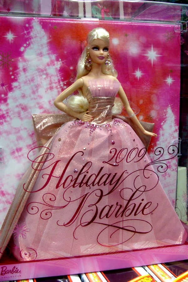 Holiday Barbie 2009 - Holiday Collector Barbie Photo ...