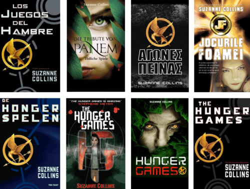 Hunger Games Cover around The World