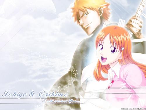 Ichigo x Orihime - I will protect anda