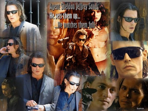 In Mexico - johnny-depp Wallpaper