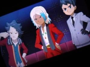 Inazuma Eleven Go Toramaru, Saginuma, Ishido.