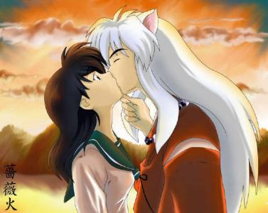 Recommended Anime's and Manga's images InuYasha kissing ...