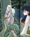 Inuyasha (Kagome) _ manga artbook/covers