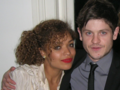 Iwan and Antonia at premiere of Wild Bill - misfits-e4 photo