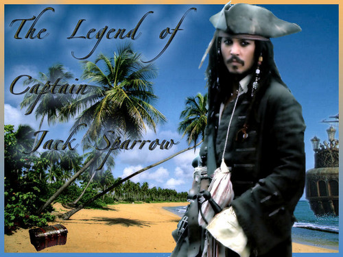 Pirates of the Caribbean wallpaper entitled Jack Legend