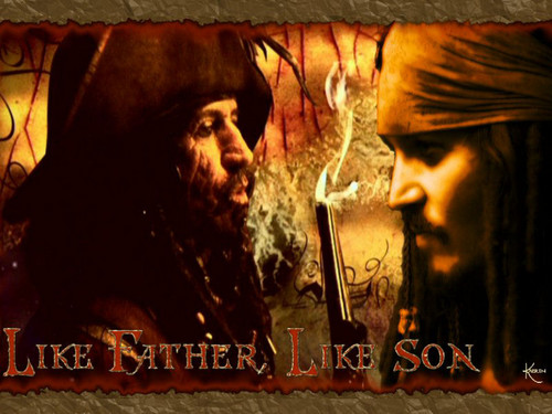 Like Father! - pirates-of-the-caribbean Wallpaper