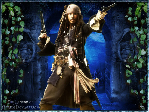 Jack Sparrow - johnny-depp Wallpaper