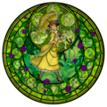 Jane`s stained glass window - disney-leading-ladies fan art