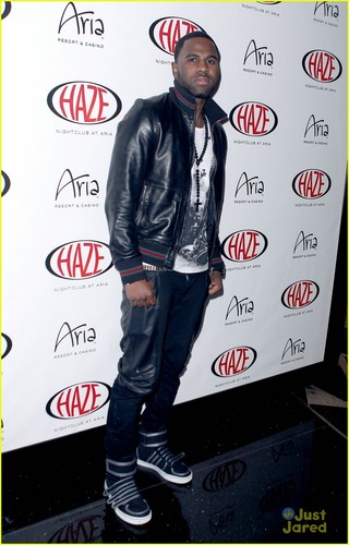Jason Derulo Heats Up Haze Nightclub