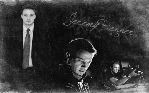 Jeremy Renner wallpaper possibly with a business suit and a sign entitled Jeremy Renner ;)