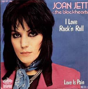 Joan Jett wallpaper with a portrait called Joan Jett