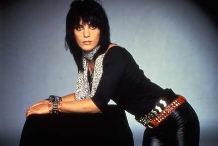 Joan Jett wallpaper probably containing an outerwear, a well dressed person, and an overgarment titled Joan Jett