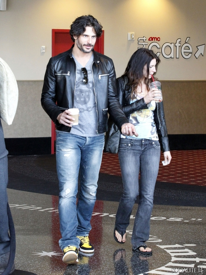 Joe Manganiello Has A Date At The Movies