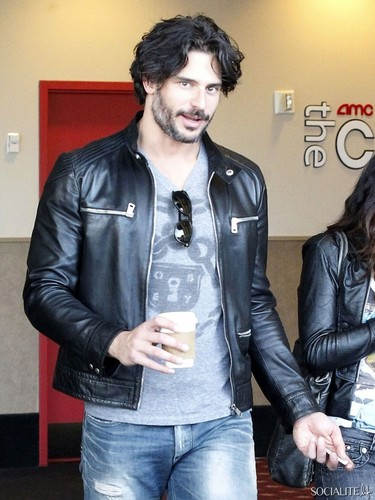Joe Manganiello Has A datum At The films