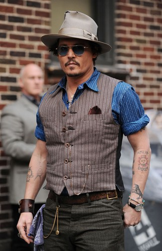 Johnny Depp 2011