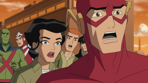 Justice League: The New Frontier (2008) - Desene in