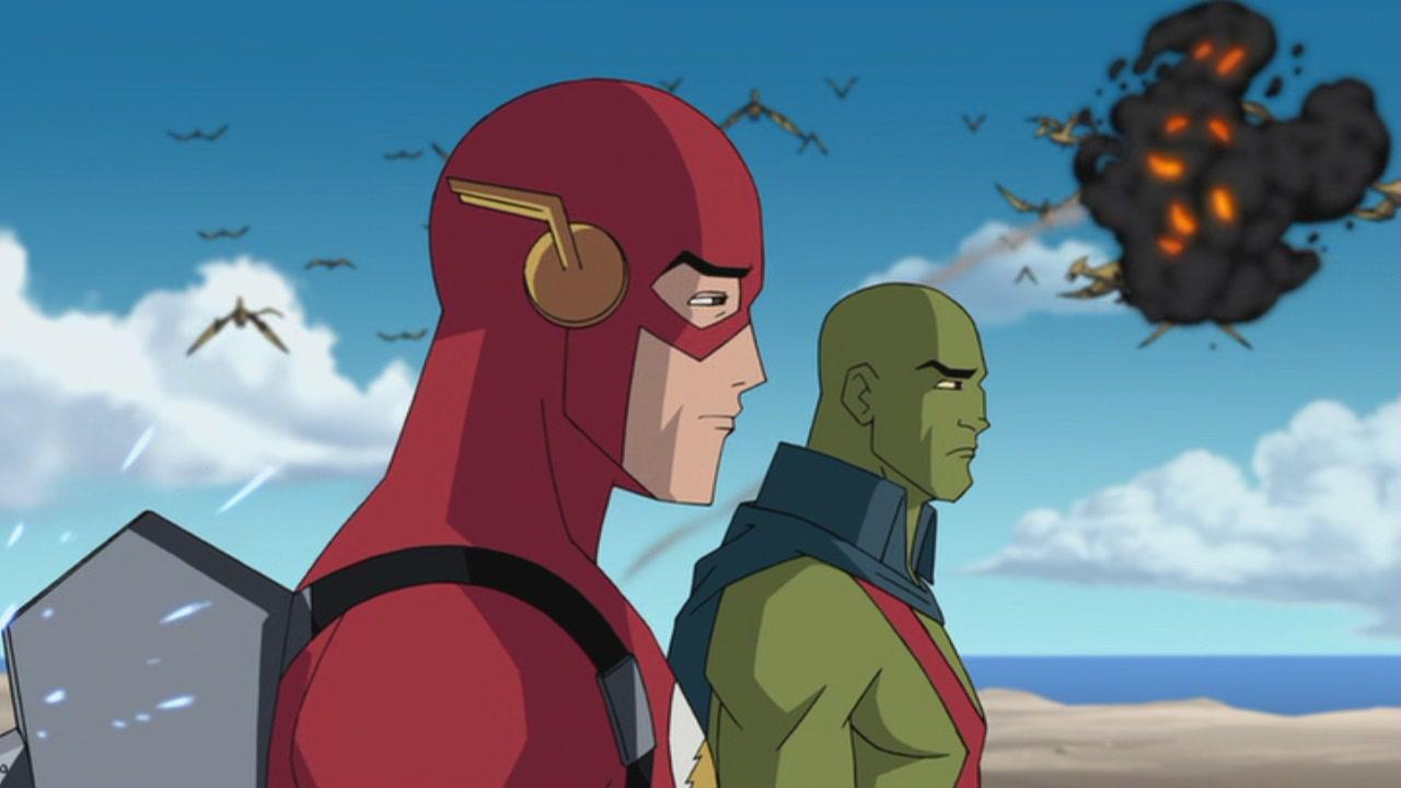 Resultado de imagem para justice league the new frontier