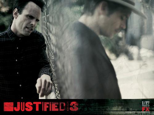 Justified Season 3 wallpaper