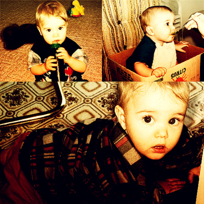 Justin Bieber Baby Picture Justin Bieber Justin as Baby