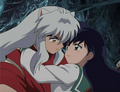 Kagome and Inuyasha~ - inuyasha-and-kagome-forever photo