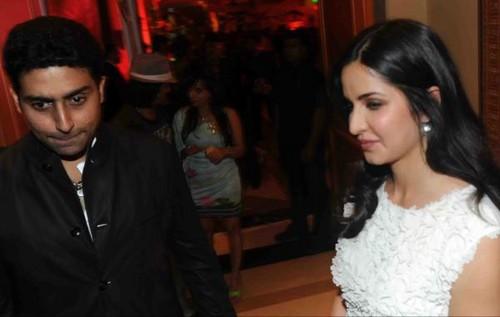 Katrina with Abhishek Bachchan