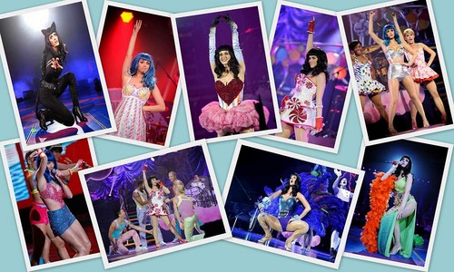Katy Perry - California Gurls Tour Collage