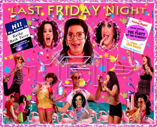 Katy Perry - Last Friday Night Poster