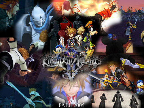Kingdom Hearts wallpaper possibly containing a stained glass window and Anime called Kingdom Hearts