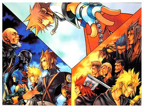 Kingdom Hearts Обои containing Аниме called Kingdom Hearts