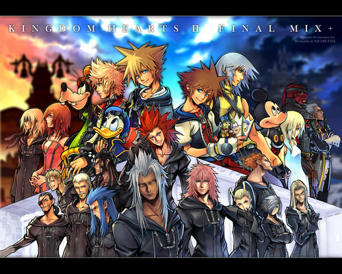 Kaharian mga puso wolpeyper with anime titled Kingdom Hearts