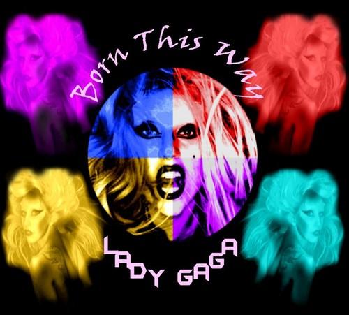 Lady Gaga - Born This Way Poster #1