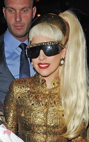 Lady Gaga in Manhattan